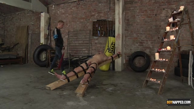 Strapped Down, Flogged Wanked Off - Michael Wyatt Ashton Bradley - Boynapped girl getting fucked by another girl