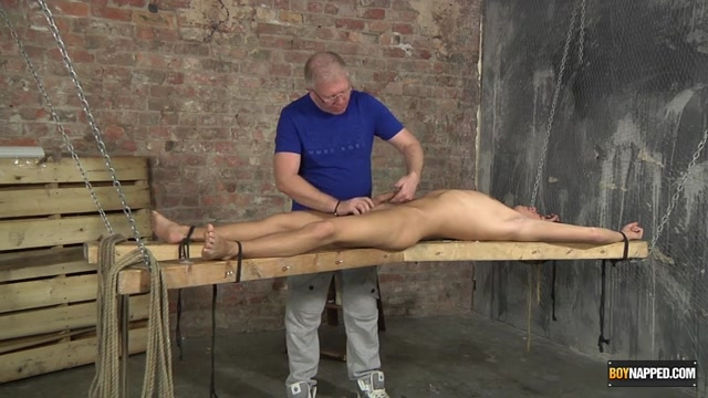 Strapped Down And Milked - Justin Blaber Sebastian Kane - Boynapped Mature black big booty anal sex