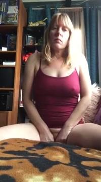 Pleasing myself with my vibrator