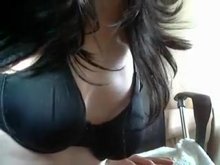Crossdresser playing with big dildo tip on how to give a man oral sex