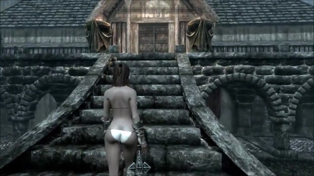 Perils of escaped Skyrim slavegirl 21 Black india porn pic