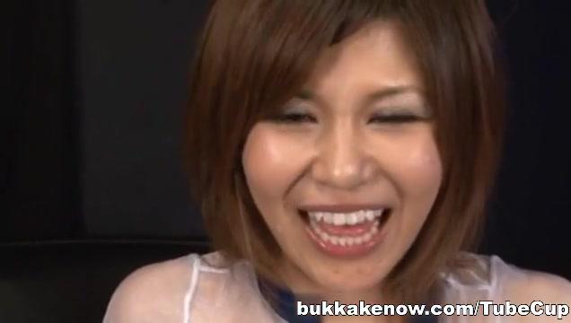 Cute   Pine Shizuku gets cum drenched