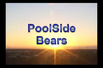 Poolside Bears the black nigger bitch