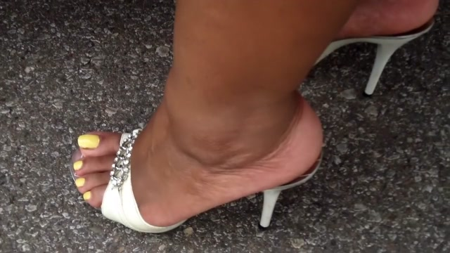 BBW In High Heel Mules Sex Sihmel