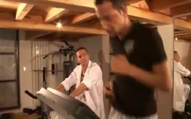 Two french straight guys in the fitness room India Sexci Video