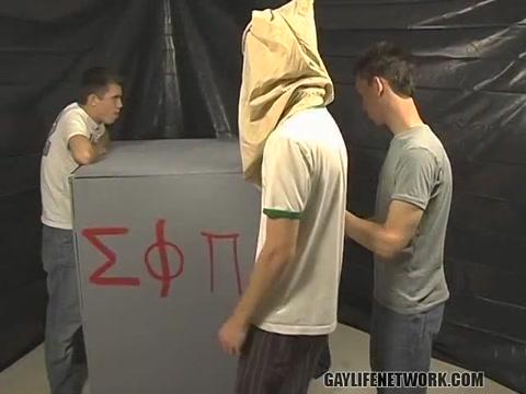 Braden, Jesse, Nevin Nick - The Glory Hole Box is Back! - TeachTwinks Hand model sluts