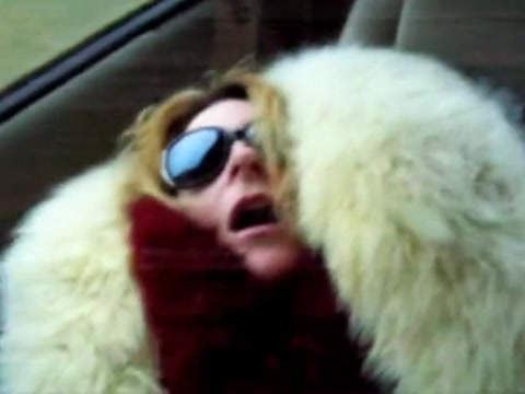 Fur coat milf gives blowjob to taxi man Picking up Indian girl for his wife