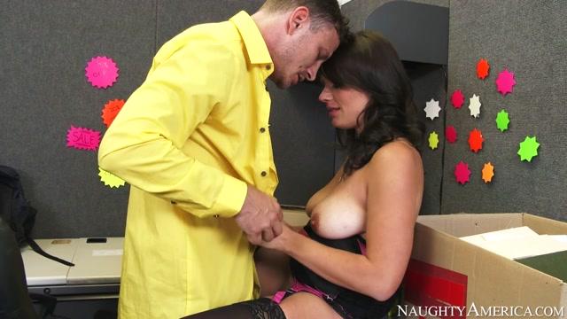 Kayla West  & Mr. Pete in Naughty Office