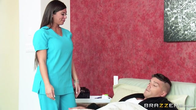 Doctor Adventures: House Call On My Balls. Alexa Pierce, Ramon Sexy huge tits redhead