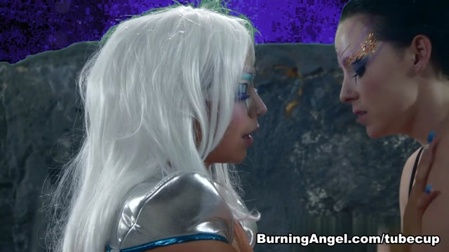 Sheridan Love & Axis Evol in Killer Kleavage From Outer Space - Episode 2 Scene