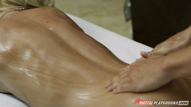 Riley Steele & Erik Everhard  in The Masseuse, Scene 4