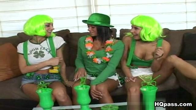 Nikki, Sammie Rhodes, Devi Emmerson in Luck Of The Irish Movie