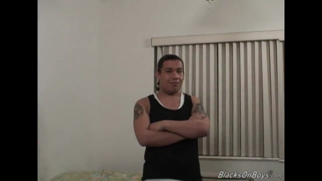 Long haired latino dude takes a black cock up his ass Classic vintage retro hairy