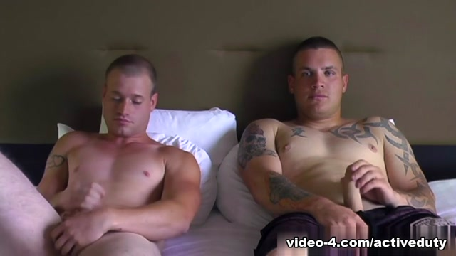 Bruce & Nick Military Porn Video citizen watches old model
