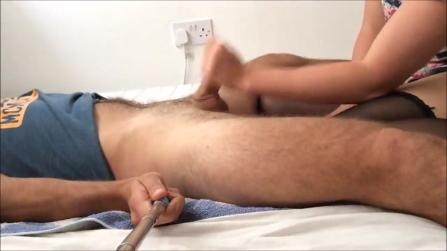 Homemade pegging with big rod