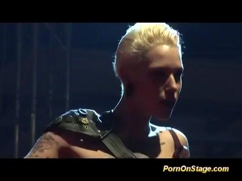 tattooed lesbian fisting live on stage jodi west mom son porn full video