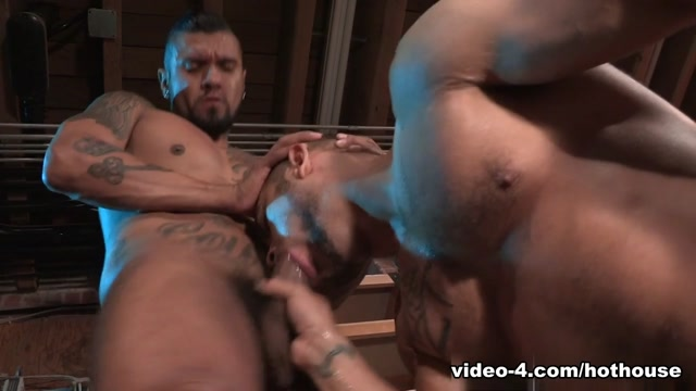 Brock Avery & Boomer Banks in Crave Video Game Sex Show Japan
