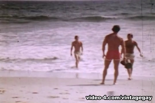 VintageGayLoops Video: Lifeguards Human sex with toon