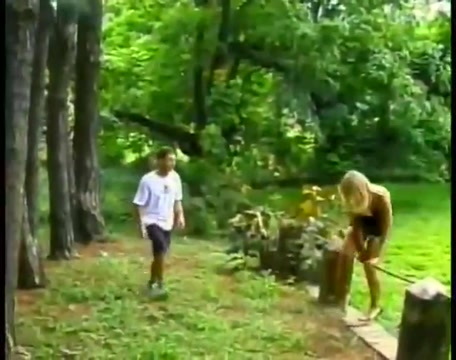 Hot action in the woods Victoria is a hot lesbian