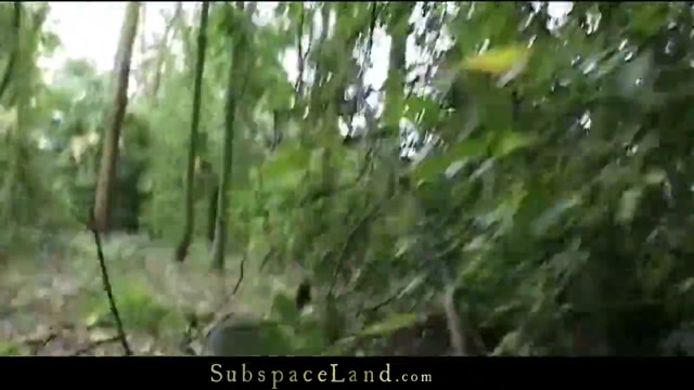 Forest Serf Hunting Hard nipple cum