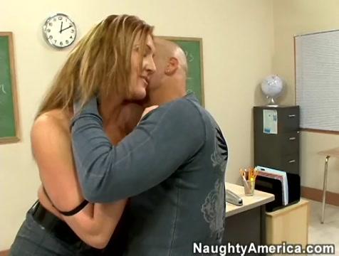 Morgan Reigns & Derrick Pierce in My First Sex Teacher