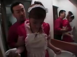 Costume Play Servant Asian cheating wife tube