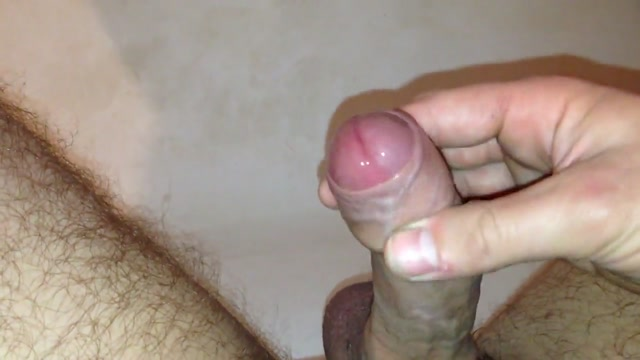 Im Cuming Masturbation handjob Ass crack and sac wax