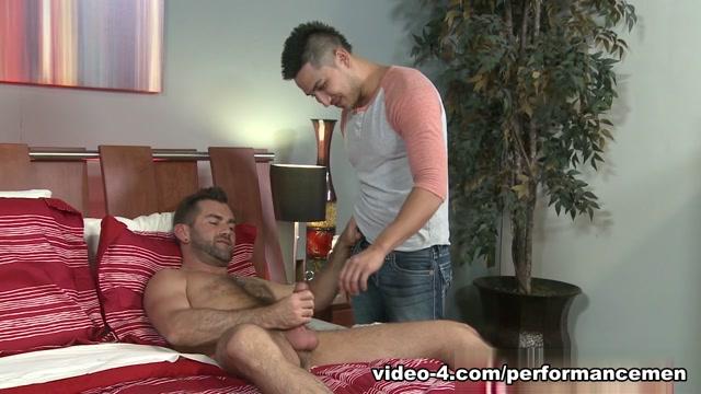 Hunter Vance & Jake Jennings in Sounding It Out Video Lesbian Slave Kristine Anderson Perverts BDSM
