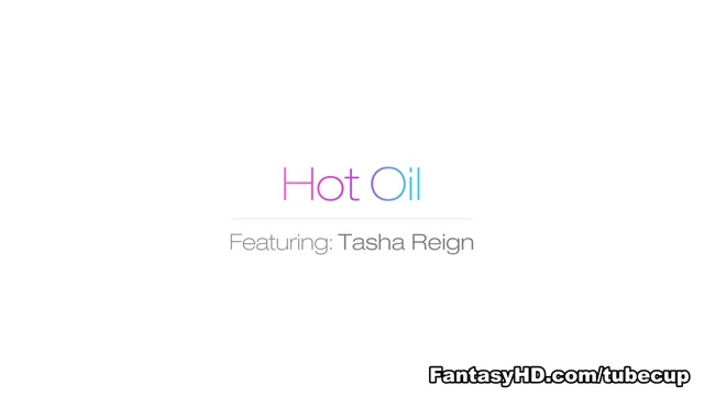 Tasha Reign in Hot Oil - FantasyHD Video