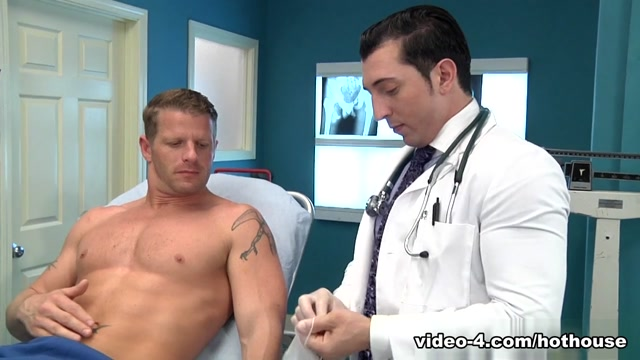 Jimmy Durano & Jeremy Stevens in My Doctor Sucks Scene Saggy tits hot