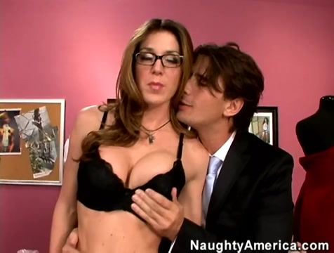 Kayla Paige & Manuel Ferrara in Naughty Office sex on the spa