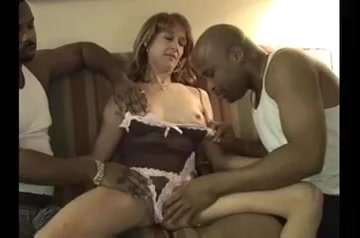mature wife gets creamed by her two black friends Free online clips porn
