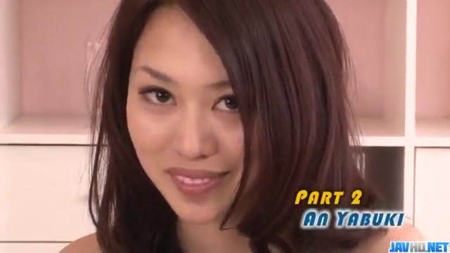 Threesome in hardcore manners along An Yabuki Pervers! - public anal fur sperma doner