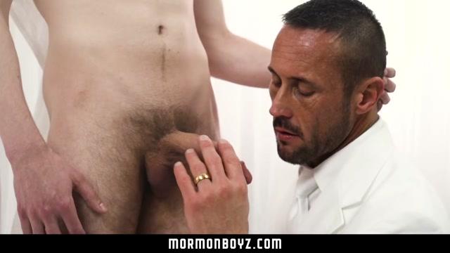 MormonBoyz - Daddy Spanks Cute Mormon Sexy foursome swap big tits gif
