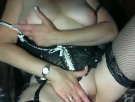 Nylon Mature Couple Drunk hick slut gets fucked
