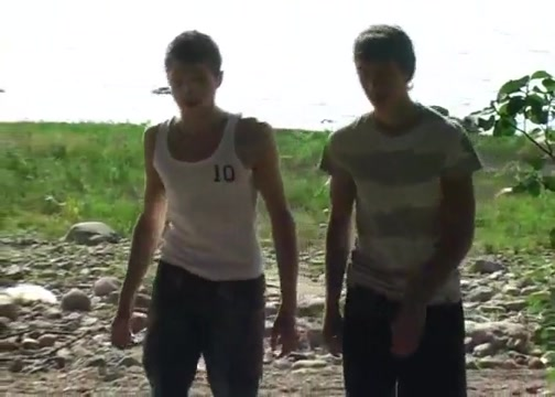 Two RussianTwink Boys Bareback Outdoor Sex Meredith white tits