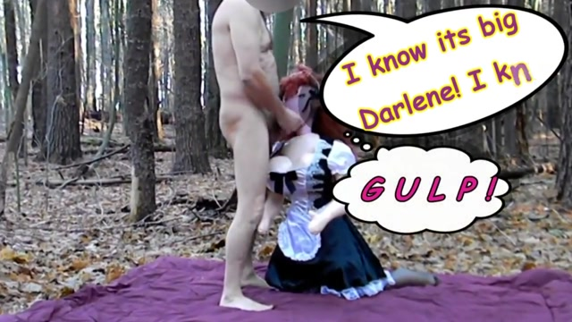 The Adventures of Darlene Doll, blowup babe Part 3 Jack off gay men
