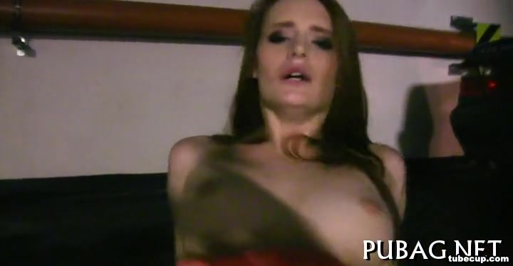 A quickie and wet blowjob Casting couch boobs nude