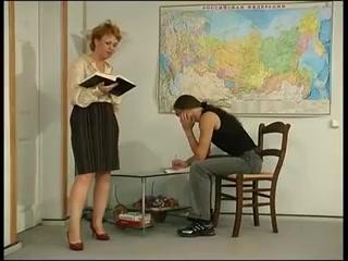 The guy with the teacher