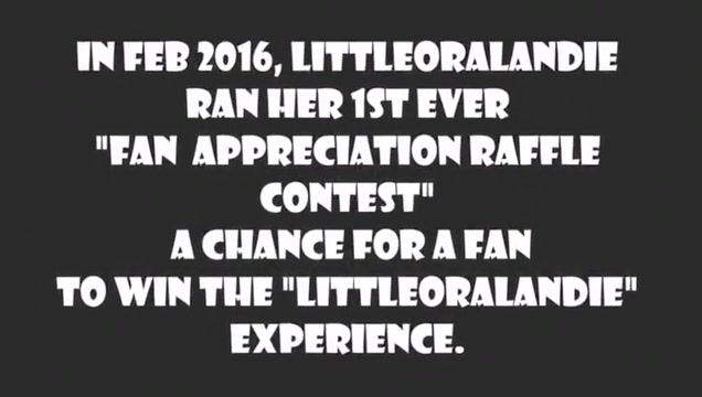 LittleOralAndie vs. First Monster Cock_ Fans Raffle Winning Deepthroat hip teen nude video
