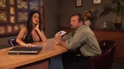 JESSICA JAYMES in De-Briefed sc.1 black thug sagger seduction 1