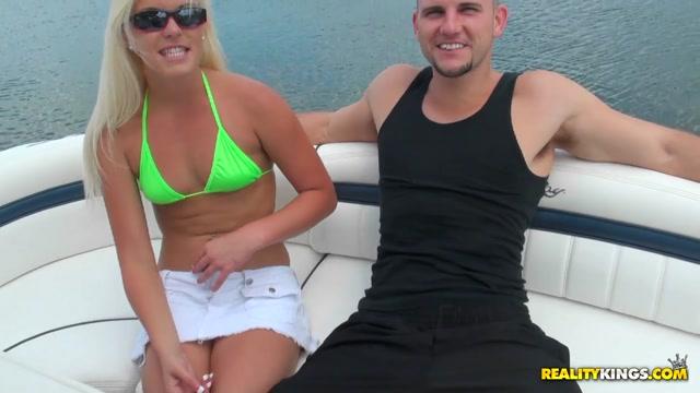 Jmac & Shay Golden in Boating booty - CaptainStabbin Cyrus upskirt shot
