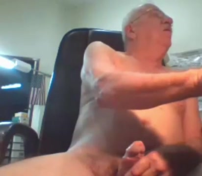 grandpa with juice big cock stroke Busty women 3some