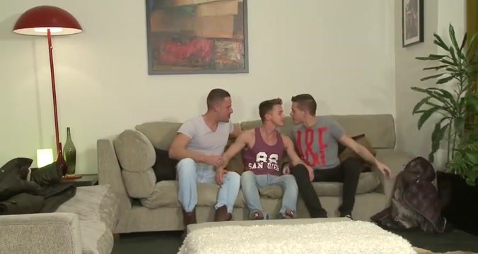 No Strings Attached dads and sons naked