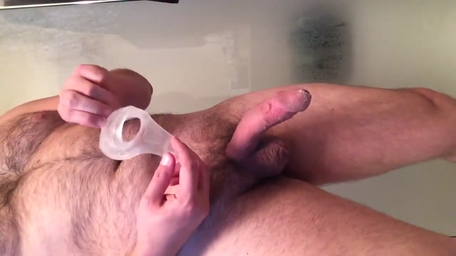 Perfect Fit and Fleshlight Review Huge Cock Ball Sleeves Big floppy tits up close