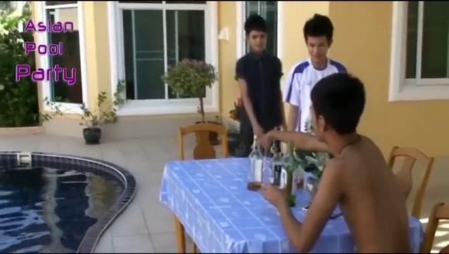 ASLAN POOL PARTY real virgin escort thailand