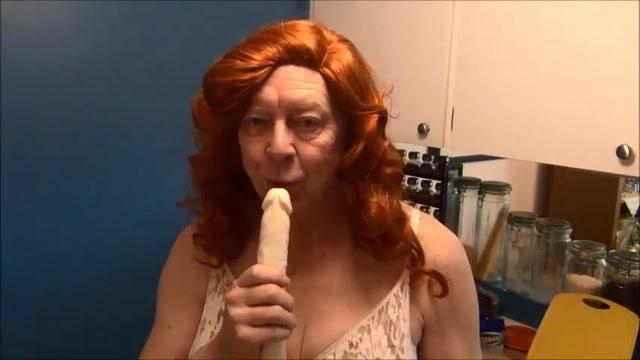 Naughty Gigi deep throating double dildos native girl porn pic
