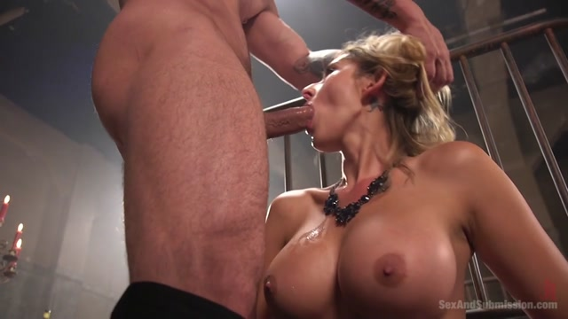 Deanna Dare Mr. Pete in Deanna Dares Stranger Submission - SexAndSubmission Beauty pleasures her old slavemaster zealously