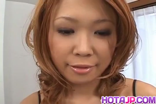Kasumi Yamane gets fingers and sucked penises in her vagina