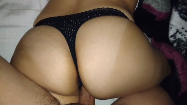 DARK THONG!! BIG ASS!! Amateur leaked uncensored